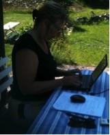 marie är envis i sitt skrivande