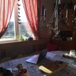 Arbetsplats i köket