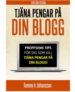 Tjäna pengar på att blogga