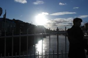 Solen tittade fram